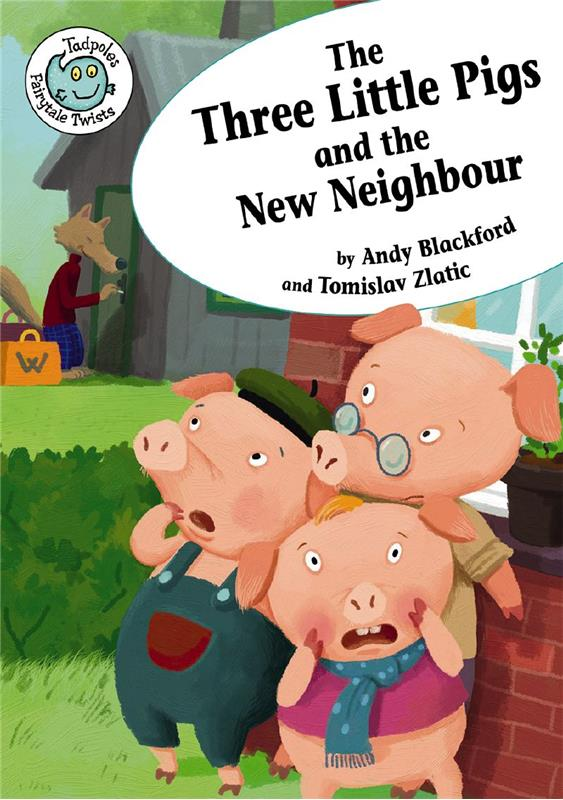 The Three Little Pigs and the New Neighbor - PB