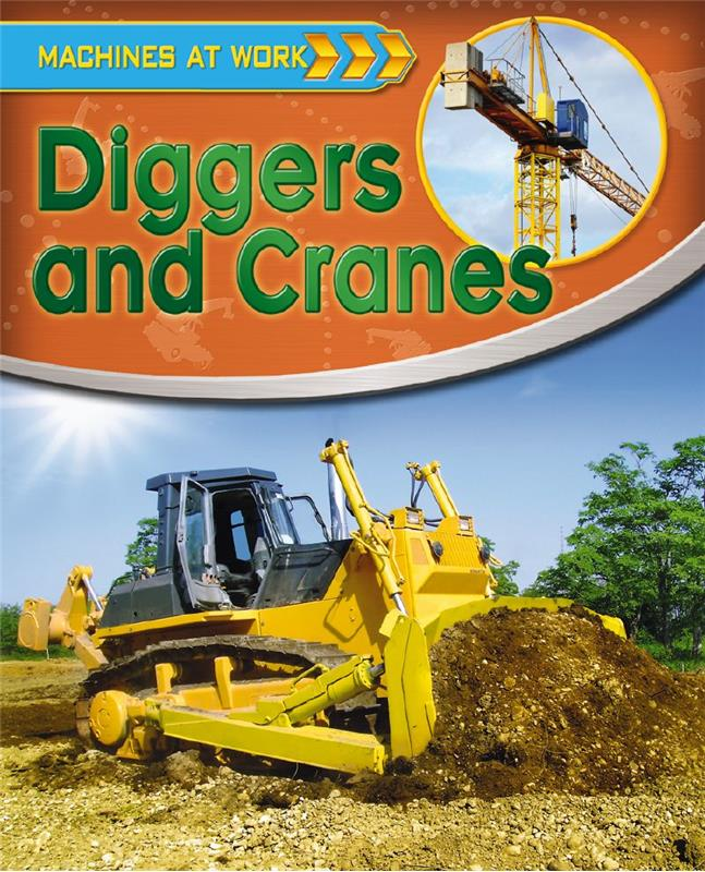 Diggers and Cranes - HC