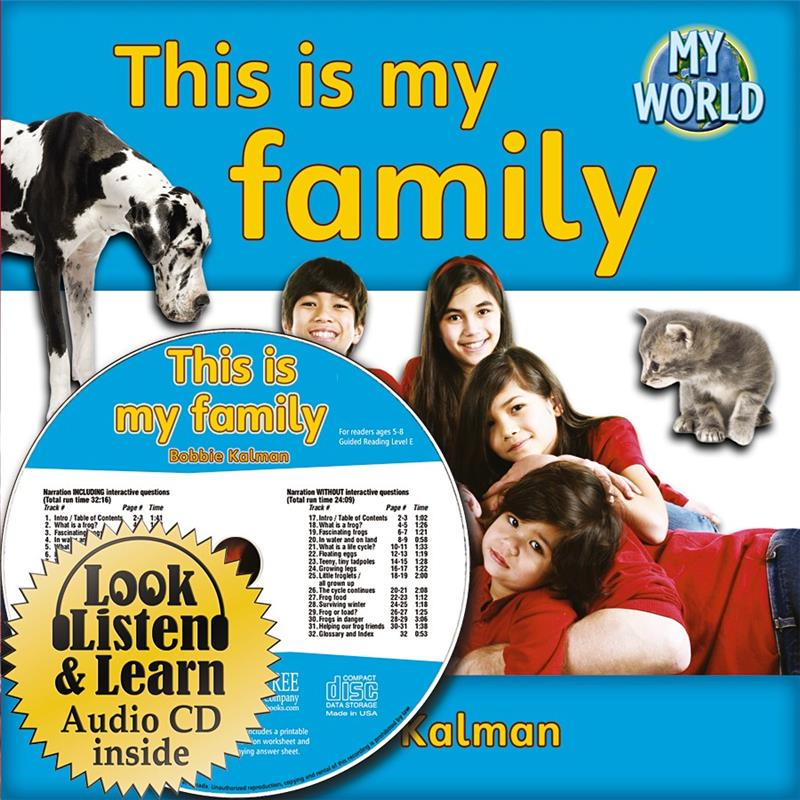 This is my family - CD + PB Book - Package - Mixed Media