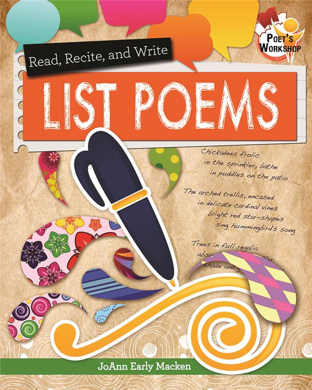 Read, Recite, and Write List Poems - PB