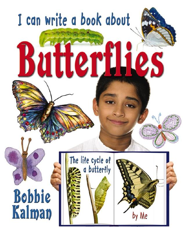 I can write a book about butterflies - PB