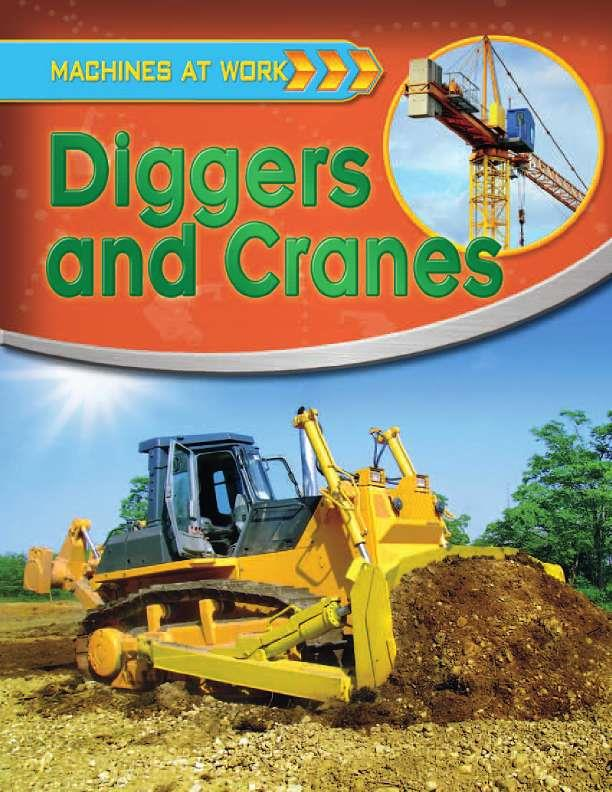Diggers and Cranes-ebook
