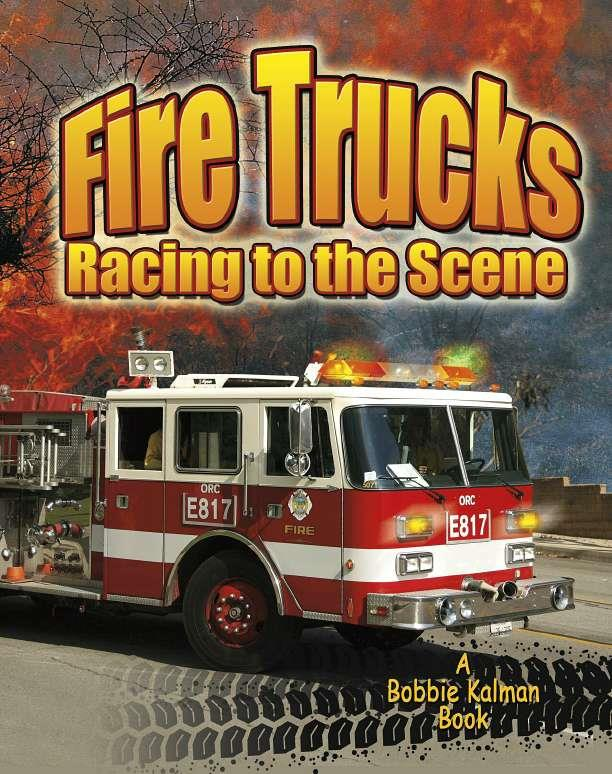 Fire Trucks: Racing to the Scene-ebook