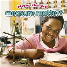 How do we measure matter? - PB