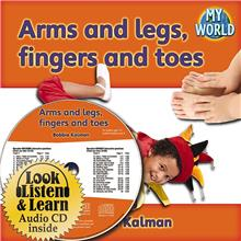 Arms and legs, fingers and toes - CD + PB Book - Package - Mixed Media