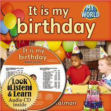 It is my birthday - CD + HC Book - Package - Mixed Media