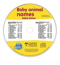 Baby animal names - CD Only - CD - Audio