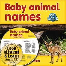 Baby animal names - CD + HC Book - Package - Mixed Media