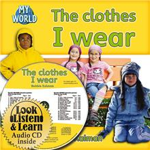 The clothes I wear - CD + PB Book - Package - Mixed Media