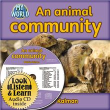 An animal community - CD + HC Book - Package - Mixed Media