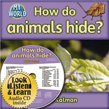 How do animals hide? - CD + HC Book - Package - Mixed Media