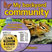 My backyard community - CD + PB Book - Package - Mixed Media