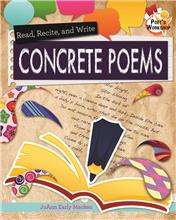 Read, Recite, and Write Concrete Poems - HC