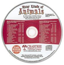 Many Kinds of Animals - CD Only - CD - Audio