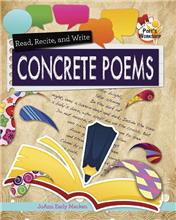 Read, Recite, and Write Concrete Poems - eBook