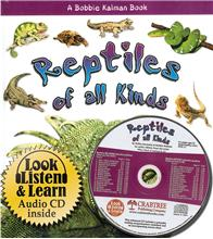 Reptiles of all Kinds - CD + HC Book - Package - Mixed Media