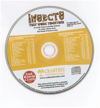 Insects that Work Together - CD Only - CD - Audio