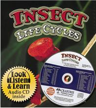 Insect Life Cycles - CD + HC Book - Package - Mixed Media