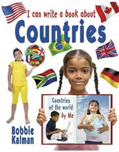 I can write a book about countries-ebook