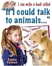 "I can write a book called ""If I could talk to animals..."" - PB"