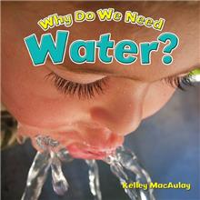 Why Do We Need Water? - eBook