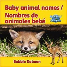 Baby Animal Names / Nombres de animales bebé - HC