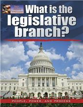 What is the legislative branch?-ebook