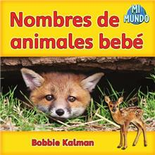 Nombres de animales bebé - eBook