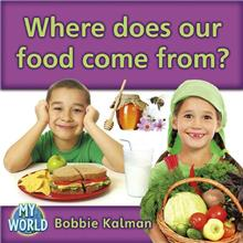 Where does our food come from?-ebook