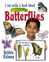 I can write a book about butterflies - HC